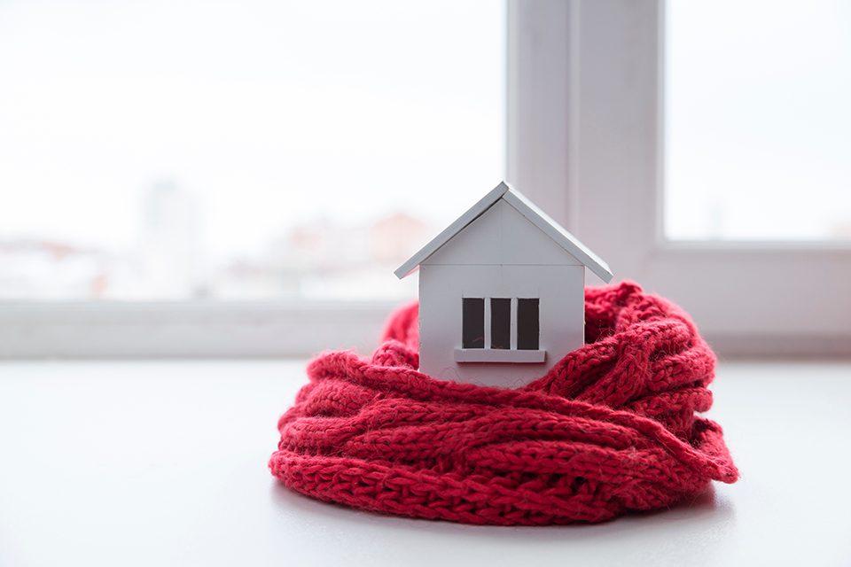 Casa eficiente en invierno